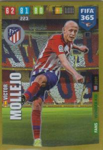 Adrenalyn XL FIFA 365 2020 - 087 Victor Molejo  - Club Atlético de Madrid - Wonder Kid