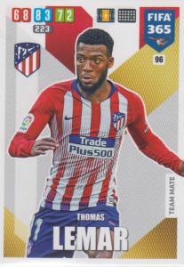 Adrenalyn XL FIFA 365 2020 - 096 Thomas Lemar  - Club Atlético de Madrid - Team Mate