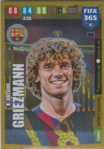 Adrenalyn XL FIFA 365 2020 - 104 Antoine Griezmann  - FC Barcelona - Impact Signing