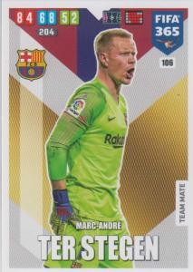 Adrenalyn XL FIFA 365 2020 - 106 Marc-Andre ter Stegen  - FC Barcelona - Team Mate