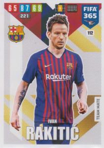 Adrenalyn XL FIFA 365 2020 - 112 Ivan Rakitić  - FC Barcelona - Team Mate