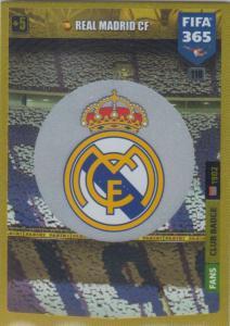 Adrenalyn XL FIFA 365 2020 - 118 Club Badge  - Real Madrid CF - Club Badge