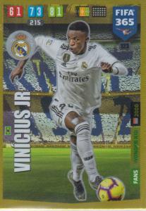Adrenalyn XL FIFA 365 2020 - 123 Vinicius Jr  - Real Madrid CF - Wonder Kid