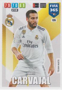 Adrenalyn XL FIFA 365 2020 - 126 Daniel Carvajal  - Real Madrid CF - Team Mate