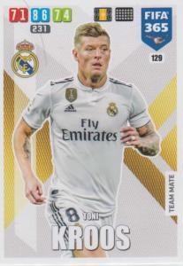 Adrenalyn XL FIFA 365 2020 - 129 Toni Kroos  - Real Madrid CF - Team Mate
