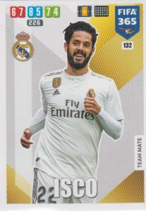 Adrenalyn XL FIFA 365 2020 - 132 Isco  - Real Madrid CF - Team Mate