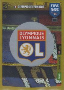 Adrenalyn XL FIFA 365 2020 - 136 Club Badge  - Olympique Lyonnais - Club Badge