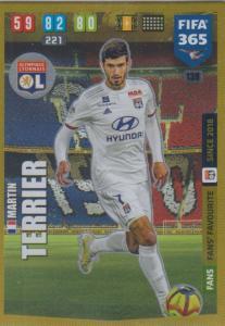 Adrenalyn XL FIFA 365 2020 - 138 Martin Terrier  - Olympique Lyonnais - Fans' Favourite