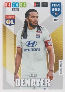 Adrenalyn XL FIFA 365 2020 - 142 Jason Denayer  - Olympique Lyonnais - Team Mate