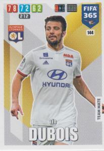 Adrenalyn XL FIFA 365 2020 - 144 Léo Dubois  - Olympique Lyonnais - Team Mate