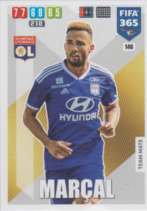 Adrenalyn XL FIFA 365 2020 - 146 Marçal  - Olympique Lyonnais - Team Mate