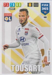 Adrenalyn XL FIFA 365 2020 - 148 Lucas Tousart  - Olympique Lyonnais - Team Mate