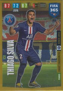 Adrenalyn XL FIFA 365 2020 - 155 Thiago Silva  - Paris Saint-Germain - Fans' Favourite