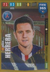 Adrenalyn XL FIFA 365 2020 - 157 Ander Herrera  - Paris Saint-Germain - Impact Signing