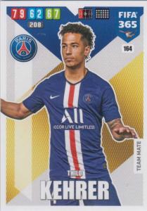 Adrenalyn XL FIFA 365 2020 - 164 Thilo Kehrer  - Paris Saint-Germain - Team Mate