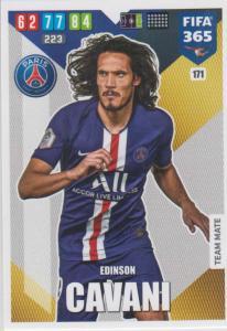 Adrenalyn XL FIFA 365 2020 - 171 Edinson Cavani  - Paris Saint-Germain - Team Mate