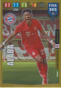 Adrenalyn XL FIFA 365 2020 - 173 David Alaba  - FC Bayern München - Fans' Favourite
