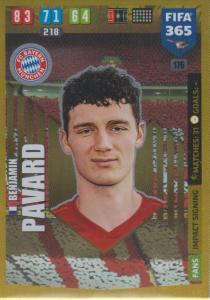 Adrenalyn XL FIFA 365 2020 - 176 Benjamin Pavard  - FC Bayern München - Impact Signing