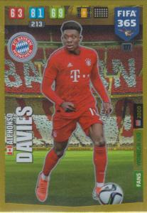 Adrenalyn XL FIFA 365 2020 - 177 Alphonso Davies  - FC Bayern München - Wonder Kid