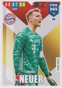 Adrenalyn XL FIFA 365 2020 - 178 Manuel Neuer  - FC Bayern München - Team Mate
