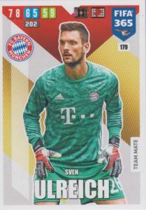 Adrenalyn XL FIFA 365 2020 - 179 Sven Ulreich  - FC Bayern München - Team Mate