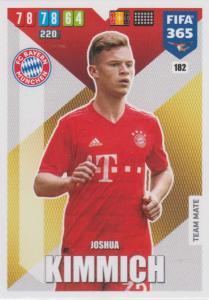 Adrenalyn XL FIFA 365 2020 - 182 Joshua Kimmich  - FC Bayern München - Team Mate