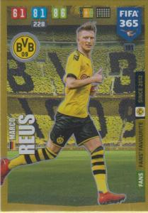 Adrenalyn XL FIFA 365 2020 - 191 Marco Reus  - Borussia Dortmund - Fans' Favourite