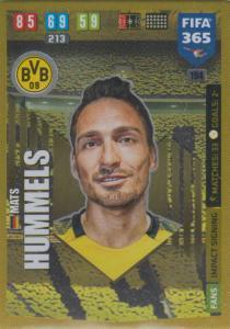 Adrenalyn XL FIFA 365 2020 - 194 Mats Hummels  - Borussia Dortmund - Impact Signing