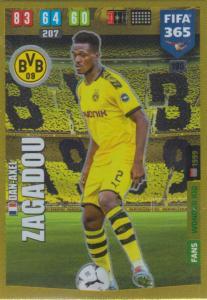 Adrenalyn XL FIFA 365 2020 - 195 Dan-Axel Zagadou  - Borussia Dortmund - Wonder Kid