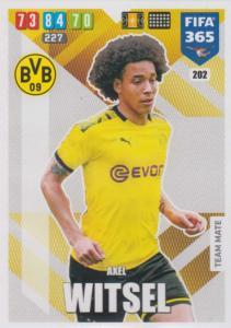 Adrenalyn XL FIFA 365 2020 - 202 Axel Witsel  - Borussia Dortmund - Team Mate
