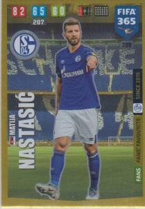 Adrenalyn XL FIFA 365 2020 - 209 Matija Nastasić  - FC Schalke 04 - Fans' Favourite
