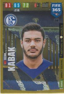 Adrenalyn XL FIFA 365 2020 - 210 Ozan Kabak  - FC Schalke 04 - Impact Signing