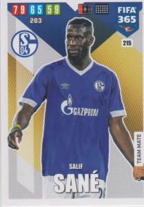 Adrenalyn XL FIFA 365 2020 - 215 Salif Sané  - FC Schalke 04 - Team Mate