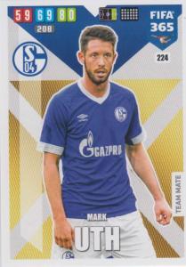 Adrenalyn XL FIFA 365 2020 - 224 Mark Uth  - FC Schalke 04 - Team Mate