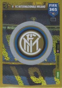 Adrenalyn XL FIFA 365 2020 - 226 Club Badge  - FC Internazionale Milano - Club Badge
