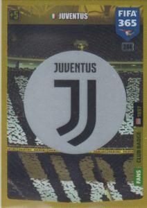 Adrenalyn XL FIFA 365 2020 - 244 Club Badge  - Juventus - Club Badge