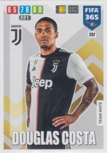 Adrenalyn XL FIFA 365 2020 - 257 Douglas Costa  - Juventus - Team Mate