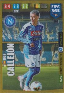 Adrenalyn XL FIFA 365 2020 - 264 José Callejón  - SSC Napoli - Impact Signing