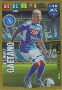 Adrenalyn XL FIFA 365 2020 - 267 Gianluca Gaetano  - SSC Napoli - Wonder Kid