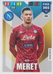 Adrenalyn XL FIFA 365 2020 - 268 Alex Meret  - SSC Napoli - Team Mate