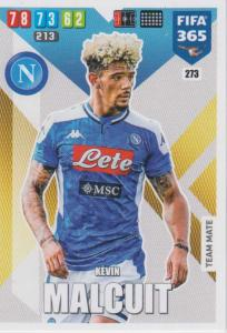 Adrenalyn XL FIFA 365 2020 - 273 Kevin Malcuit  - SSC Napoli - Team Mate
