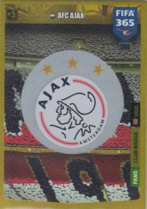 Adrenalyn XL FIFA 365 2020 - 280 Club Badge  - AFC Ajax - Club Badge