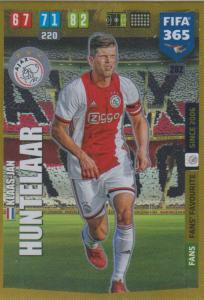 Adrenalyn XL FIFA 365 2020 - 282 Klaas-Jan Huntelaar  - AFC Ajax - Fans' Favourite