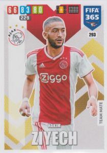 Adrenalyn XL FIFA 365 2020 - 293 Hakim Ziyech  - AFC Ajax - Team Mate