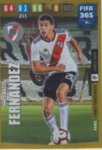 Adrenalyn XL FIFA 365 2020 - 300 Ignacio Fernandez  - CA River Plate - Fans' Favourite