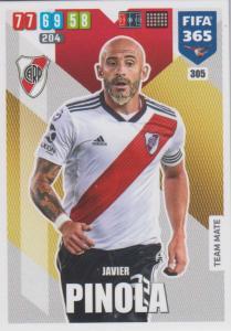 Adrenalyn XL FIFA 365 2020 - 305 Javier Pinola  - CA River Plate - Team Mate