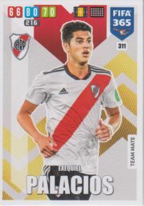Adrenalyn XL FIFA 365 2020 - 311 Exequiel Palacios  - CA River Plate - Team Mate
