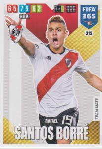 Adrenalyn XL FIFA 365 2020 - 315 Rapahel Santos Borre  - CA River Plate - Team Mate