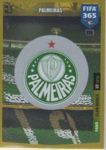 Adrenalyn XL FIFA 365 2020 - 316 Club Badge  - Palmeiras - Club Badge