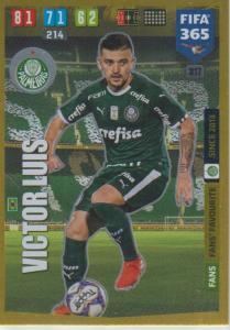 Adrenalyn XL FIFA 365 2020 - 317 Victor Luis  - Palmeiras - Fans' Favourite